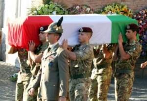 afghanistan funerali sergente silvestri