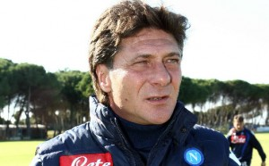 chelsea napoli mazzarri in panchina