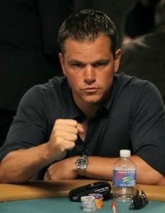 matt demon torna a giocare a poker