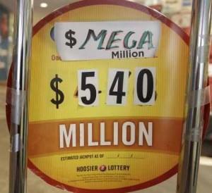 mega millions jackpot record