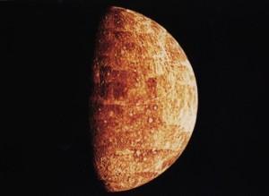 mercurio nei crateri ghiaccio