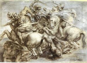 ritrovata la battaglia di anghiari di Leonardo