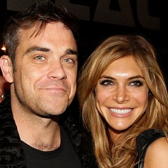 robbie williams ayda genitori felici