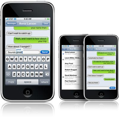 iphone 4 e mms