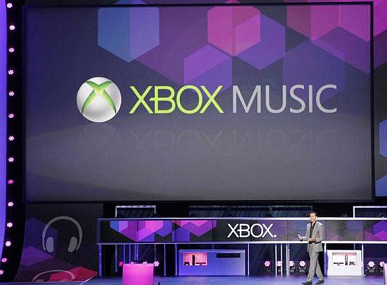 microsoft lancia xbox music