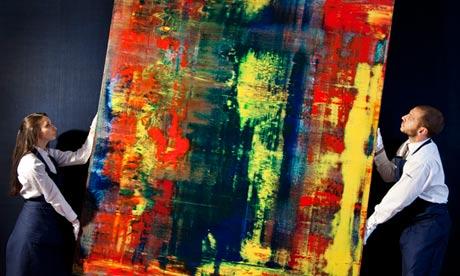 venduto un quadro di Richter, era di Eric Clapton