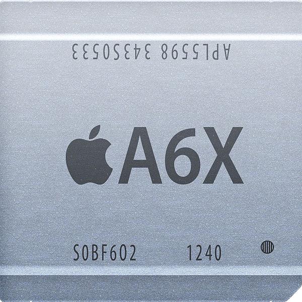 apple ipad 4 nuova cpu A6X